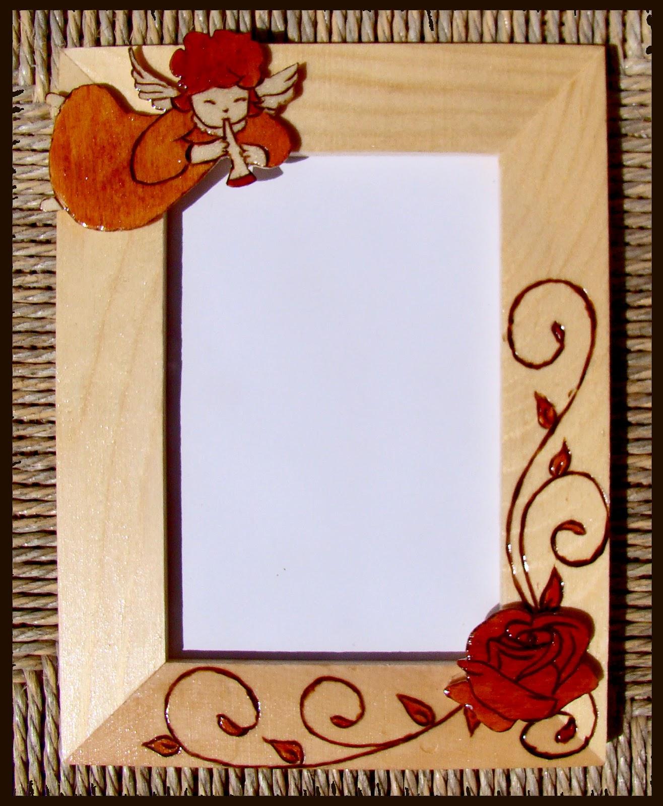 Mano creativa izabella vanda cornici per foto rame foto for Cornici per 3 foto