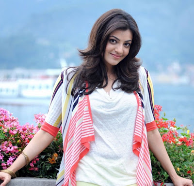 Kajal Agarwal in Baadshah Movie Photoshoot in White Dress