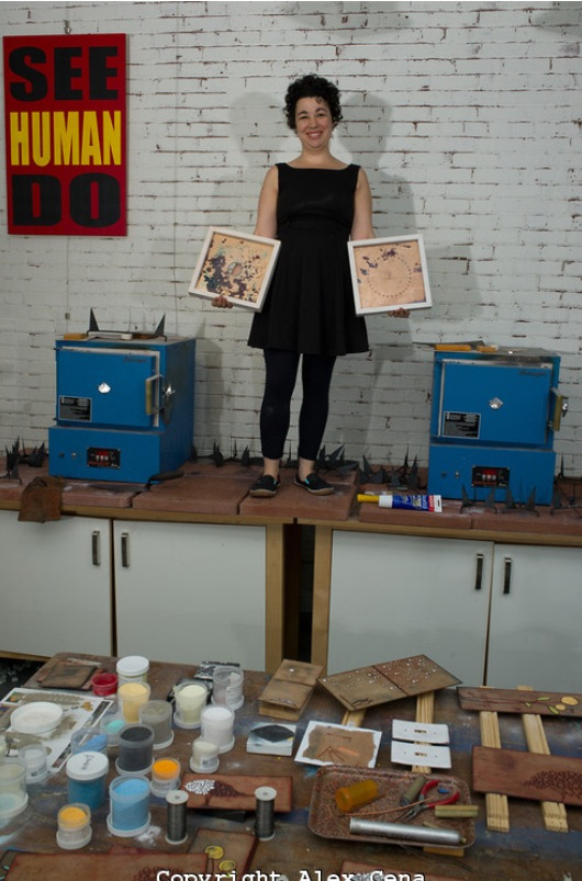 Scrantonmade introducing scrantonmade artist jenn bell for Sugarloaf craft festival nj