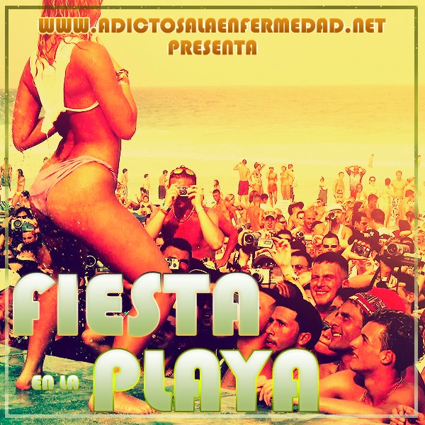 Fiesta En La Playa CD Album Recopilacion 2013