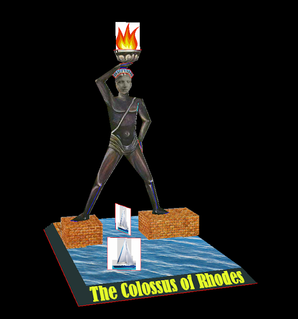 Seven Wonders of the Ancient World Pt.6 – The Colossus of Rhodes