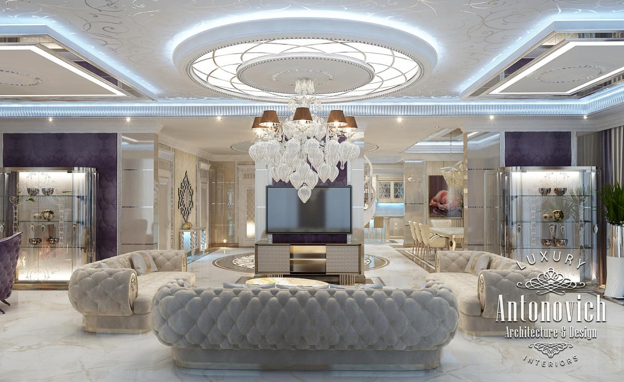 Luxury antonovich design uae luxury interior design dubai for Interieur villa