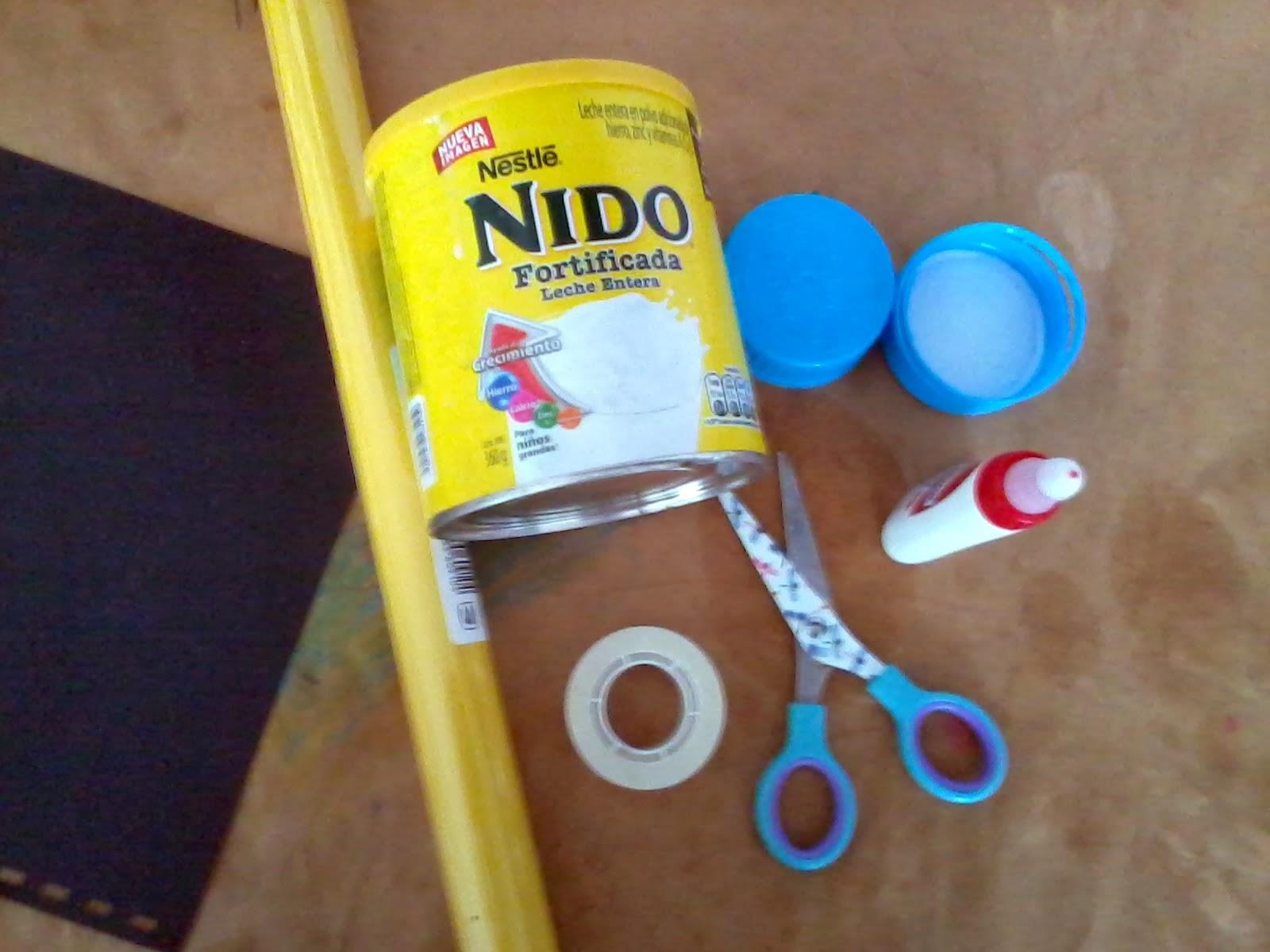 Como hacer dulceros con botes de leche for Como construir piletas de material