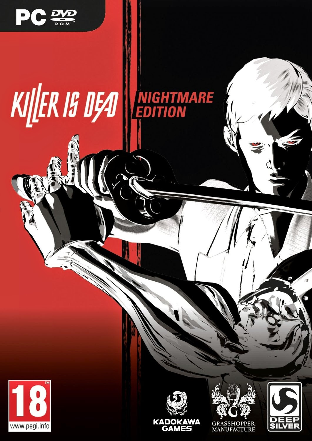 Killer is Dead Nightmare Edition PC release