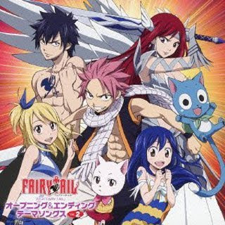 Fairy Tail OP ED Theme Songs Vol.2