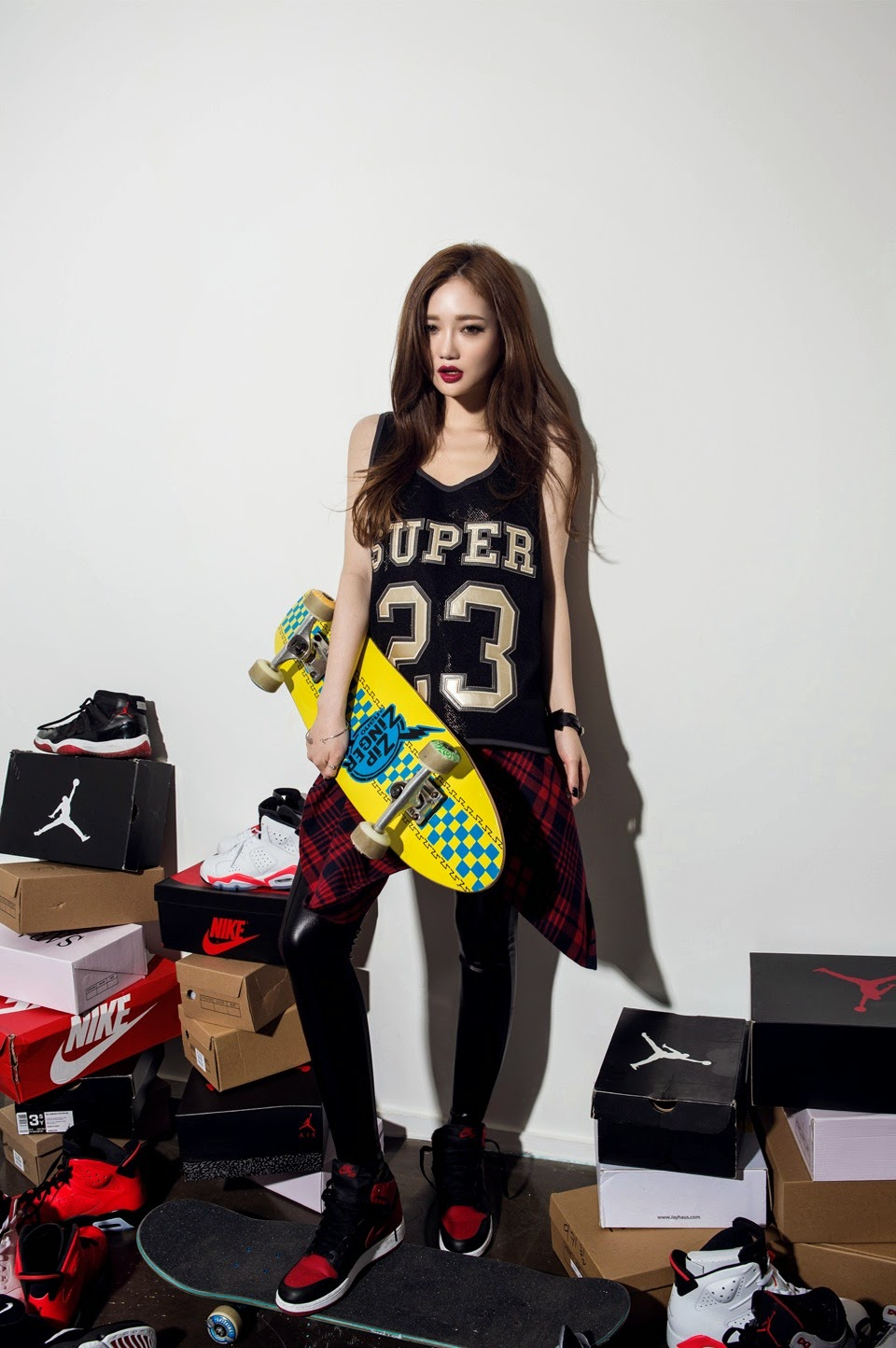 Sung Kyung Cool Skater Chick