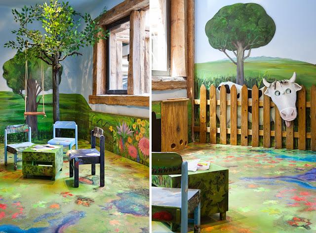 Casa Decor  para niños con Isabel Mulas y Pablo Garcí-Viñó