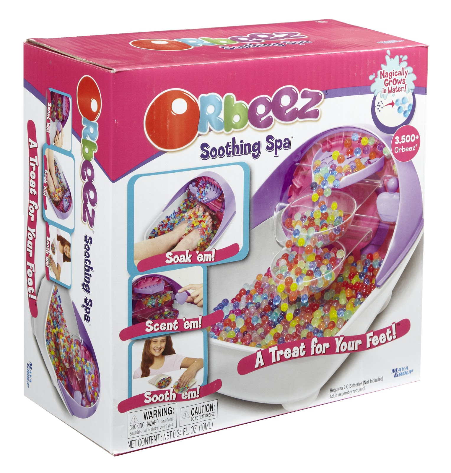 review // orbeez soothing spa - Enchanted Pixie