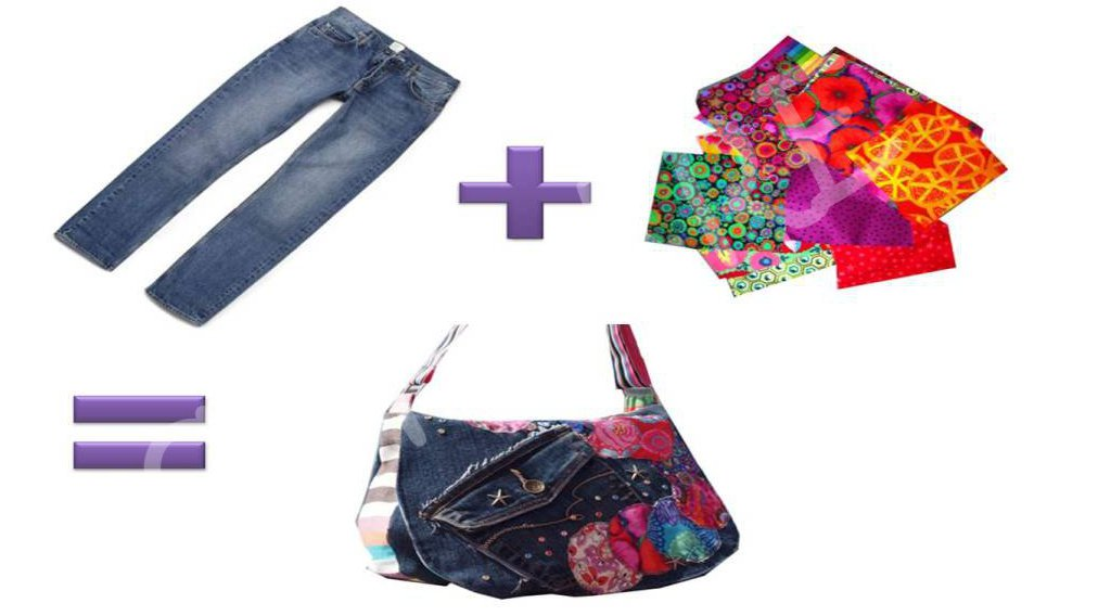 soniare home fashion and creativity diy recycle desigual inspired handbag from old jeans and. Black Bedroom Furniture Sets. Home Design Ideas