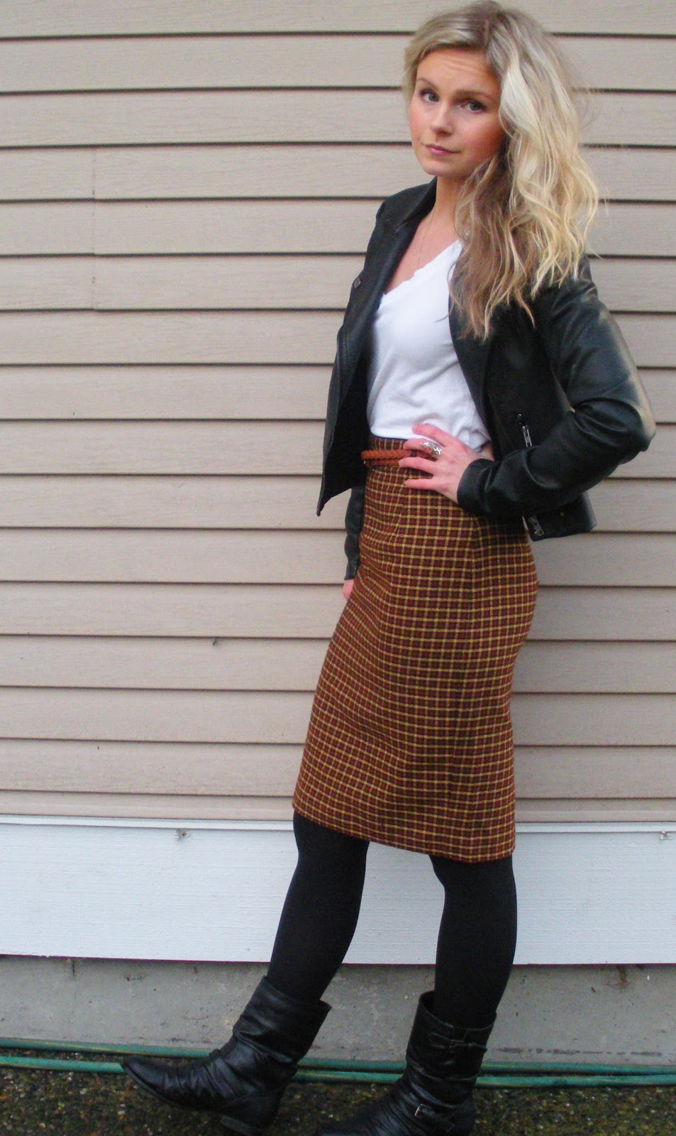 Casual Pencil Skirt 62