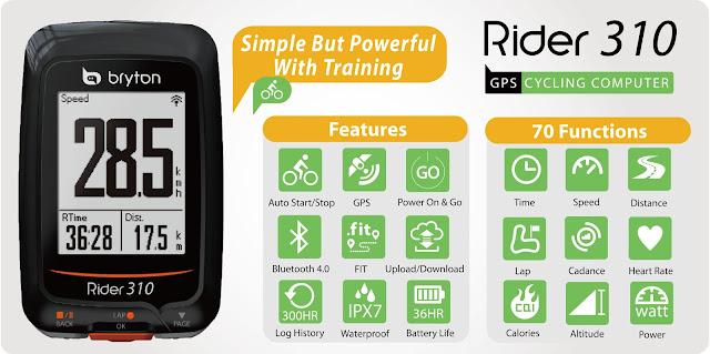 GPS Bryton Rider 310. Prueba by José Almagro