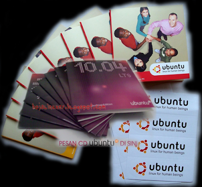 CD Ubuntu tak gratis lagi