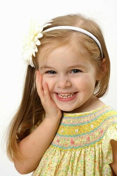 Photo bébé à l'âge de 3 ans