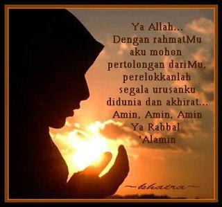 9 petua doa mustajab