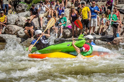 Crushing dreams, or offering a kayak hug? 8 Ball Kayak Race!, Chris Baer, vail, go pro games, mountain games