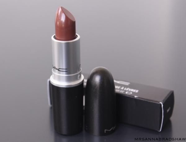 mac lipstick stone mrsannabradshaw. Black Bedroom Furniture Sets. Home Design Ideas