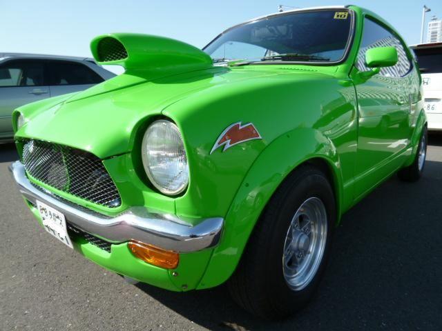 Honda Z, green, JDM, klasyk