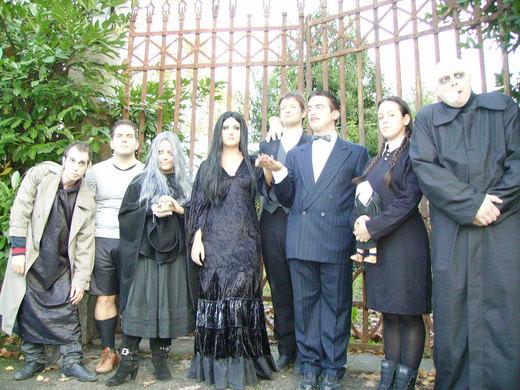 Fester Addams with Family por xxTonyStarkxx