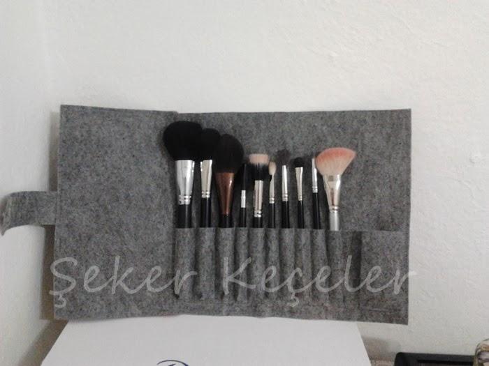 Özel Tasarım Fırça Çantaları