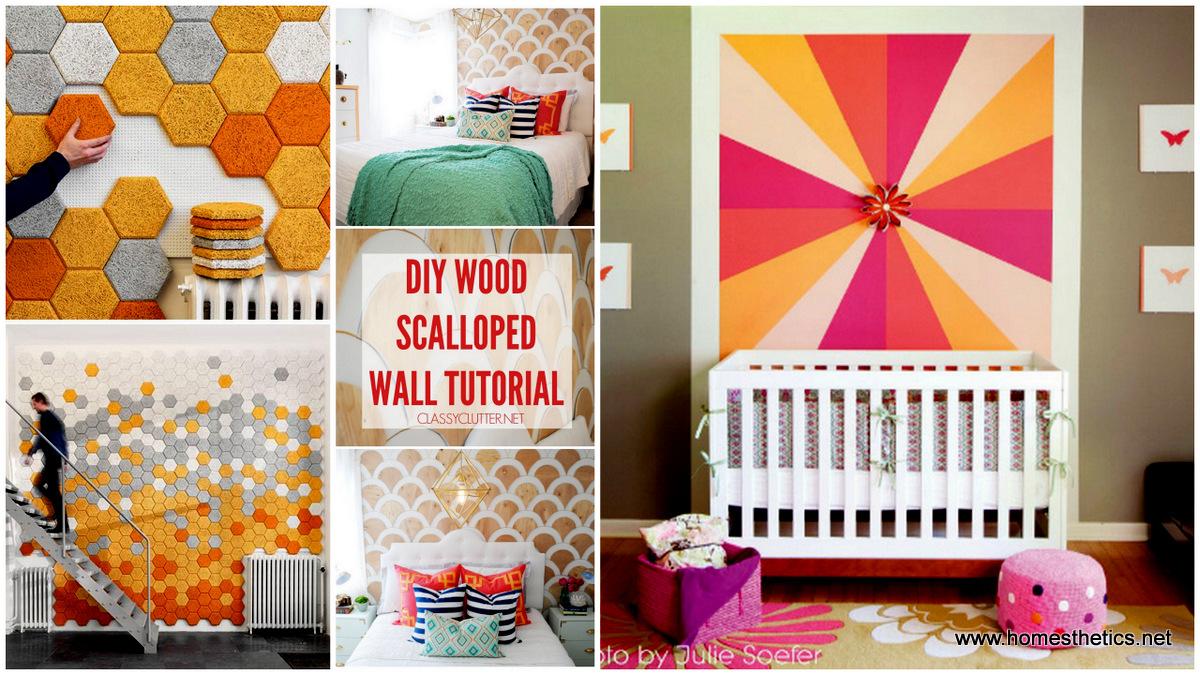 Home decor 20 amazing temporary diy wall treatment ideas for Temporary wall ideas
