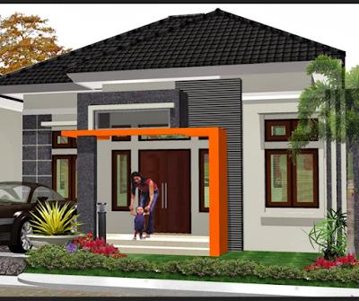 Model depan rumah minimalis terbaru