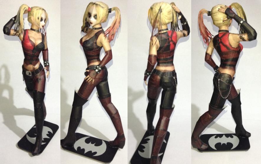Harley Quinn Papercraft