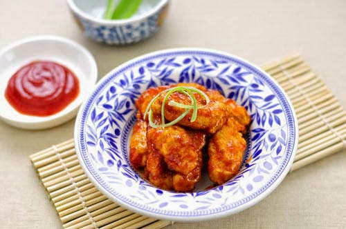 Deep Fried Pork in Sweet and Sour Sauce - Thịt Heo Sốt Chua Ngọt