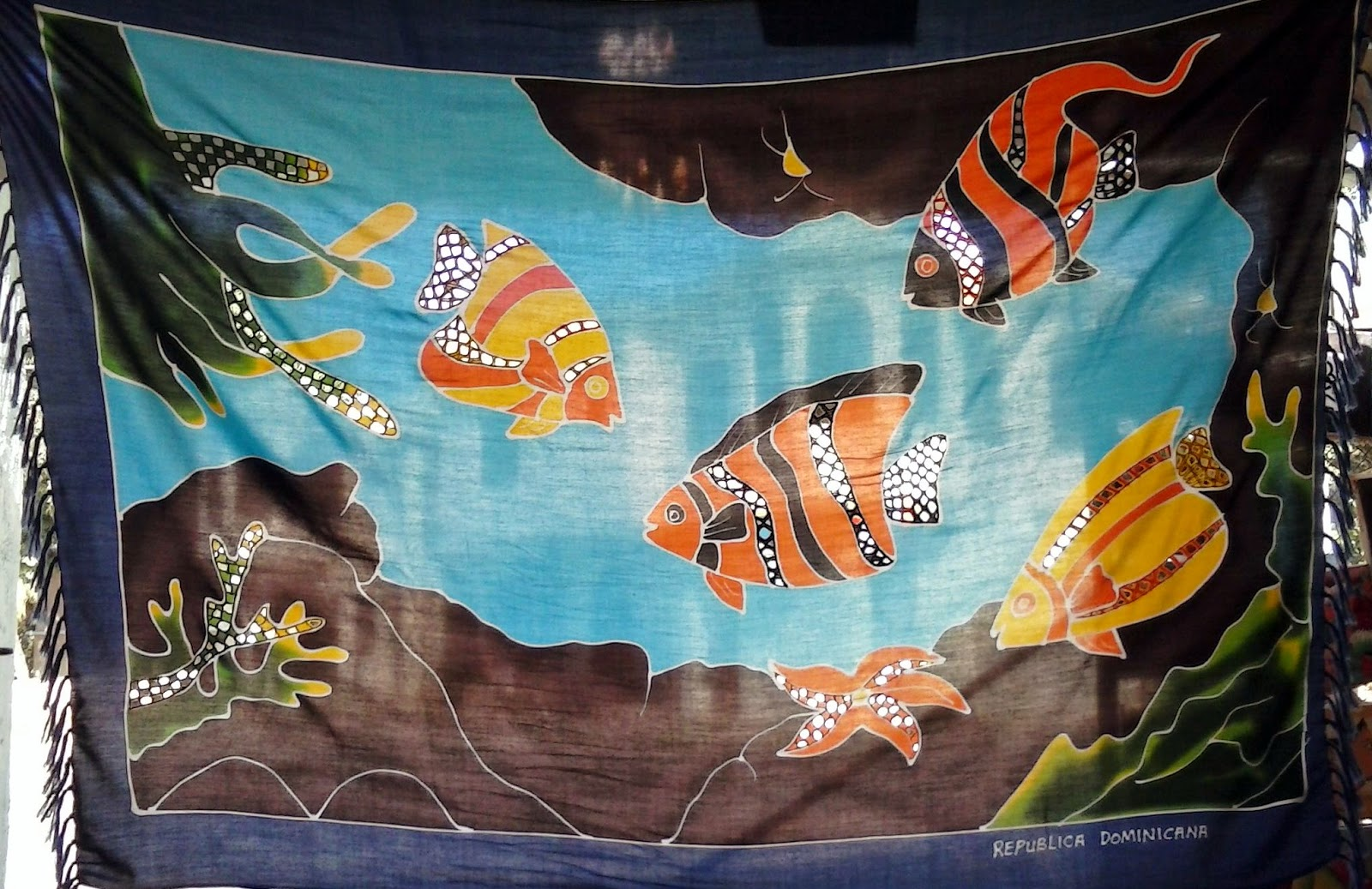 Haitianarts sarongs batik