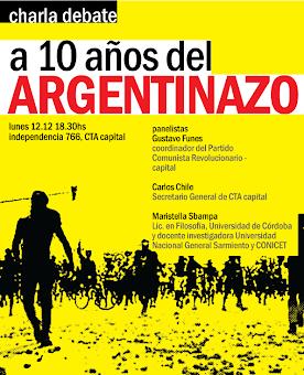 10 Años del Argentinazo