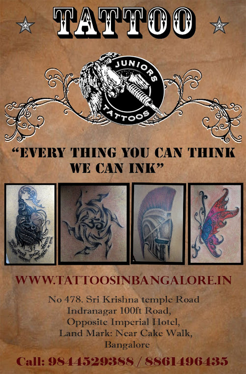 Juniot Tattoos :: Tattoo Studio in Bangalore