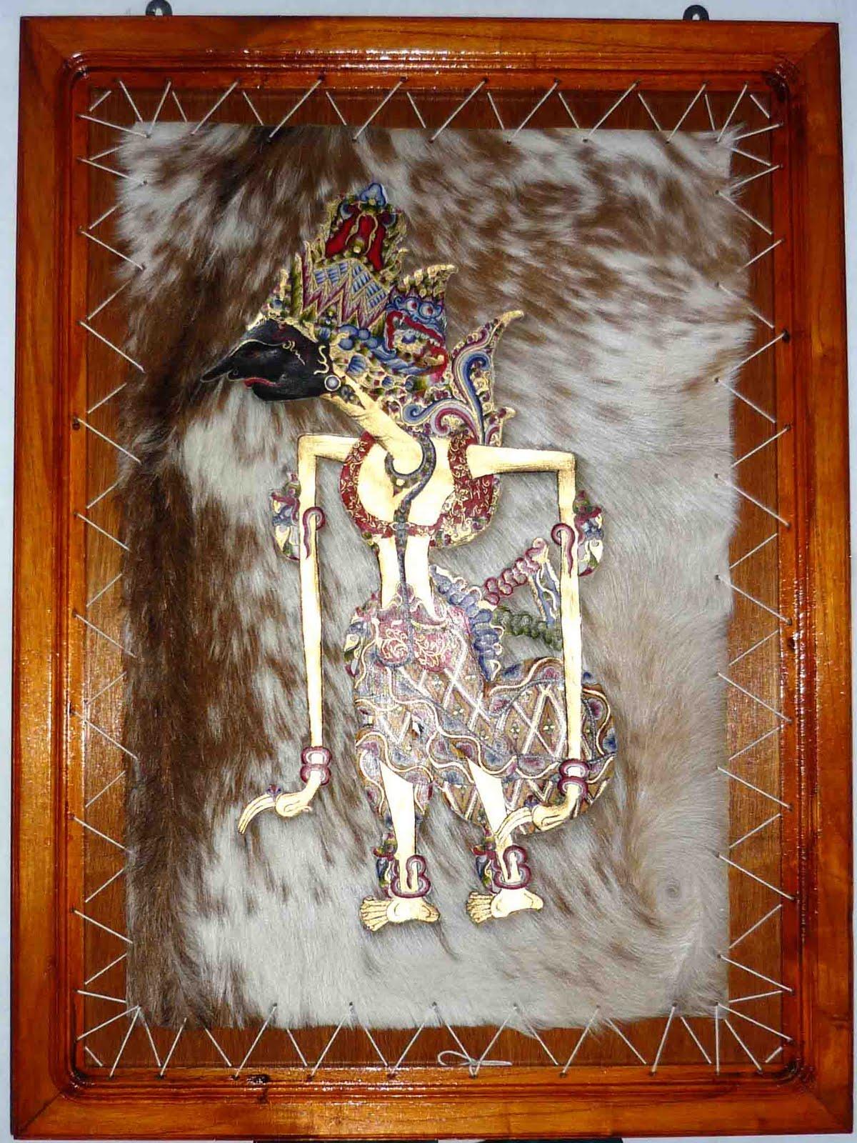 Contoh Hiasan Dinding dengan motif tokoh Krisna