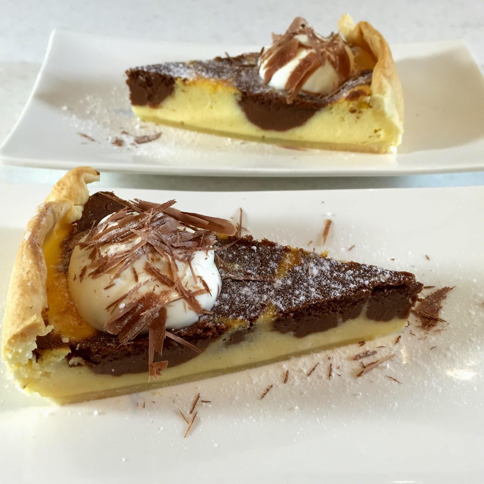 Cheesecake black & white