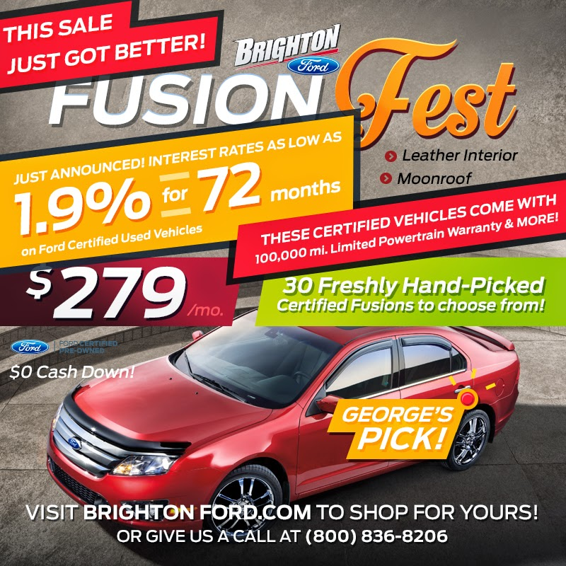 The NEW Fusion Fest at Brighton Ford!