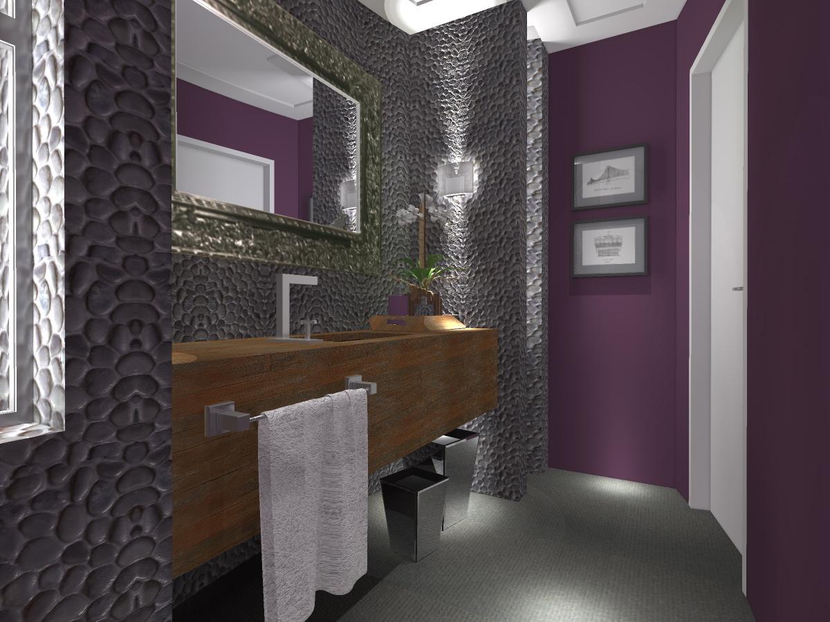 BANHEIROS COMPARATO ARQUITETURA #594548 1200x900 Bancada Banheiro Limestone