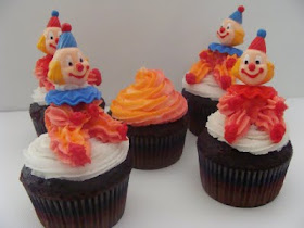 Little Clown Cupcake