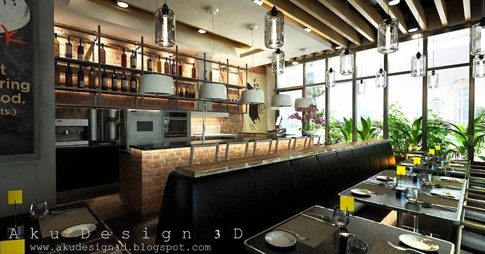 Aku design 3d cafe on air restaurant perling mall johor for Home design johor bahru