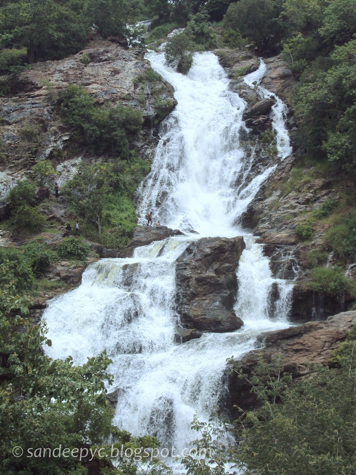 Bharachukki falls part 4