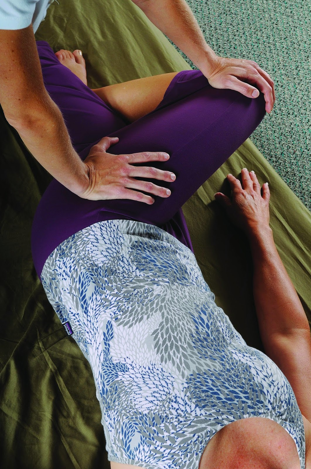 Thai Massage for passive stretching