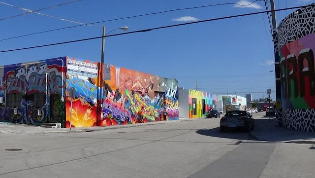 Passeando em Wynwood, Miami