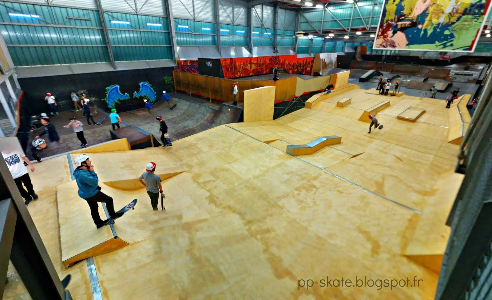 Skatepark Lille nouveaux modules