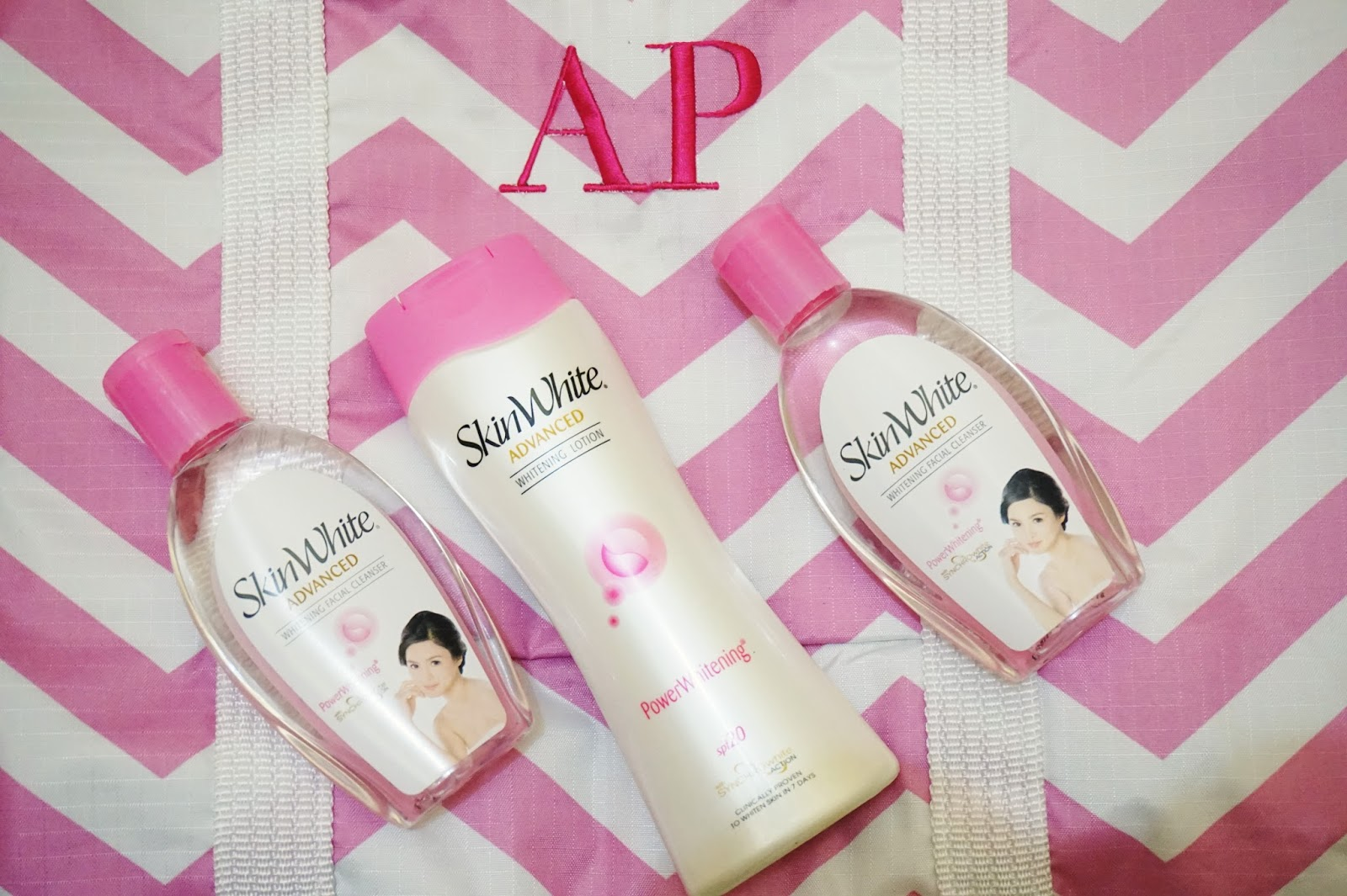 skinwhite whitening lotion and toner