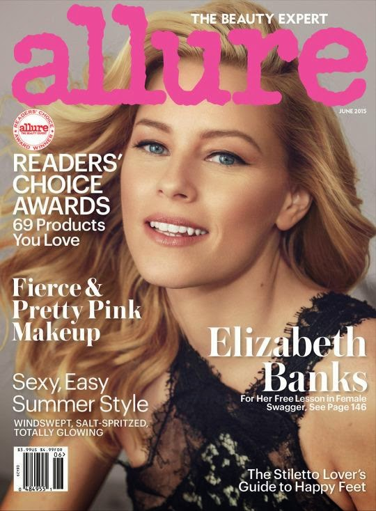 Actress @ Elizabeth Banks - Allure June 2015