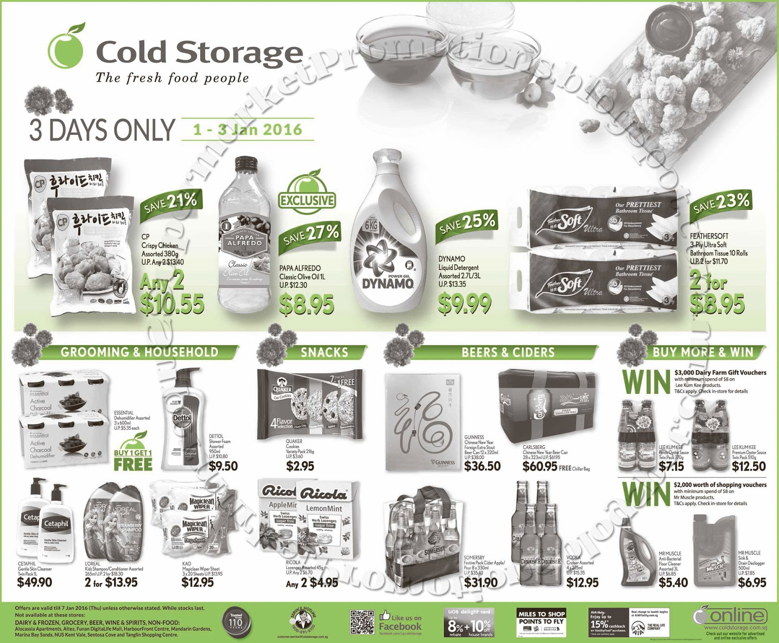 Cold storage dolce gusto promotion