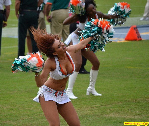 Dolphins cheerleader pussy