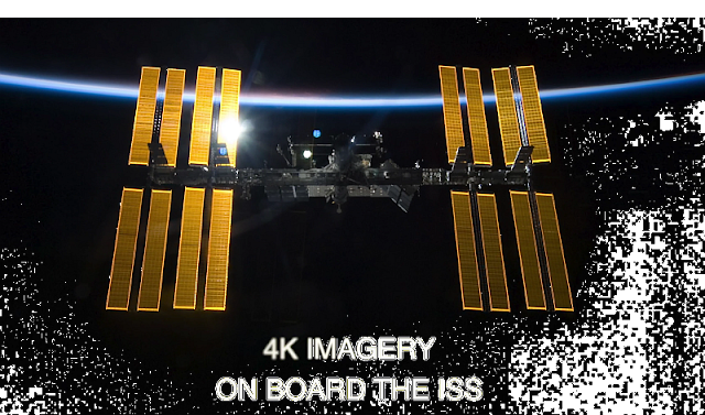 In UHD (4K) an Board der ISS - Ultra High Definition Video from the International Space Station | Atomlabor Blog