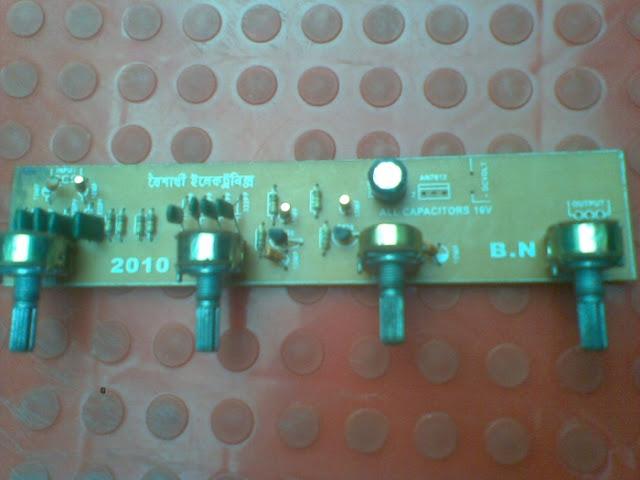 Base tone control circuit