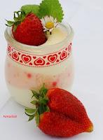 Rezept für rosa-weißes Schokomousse von herzelieb