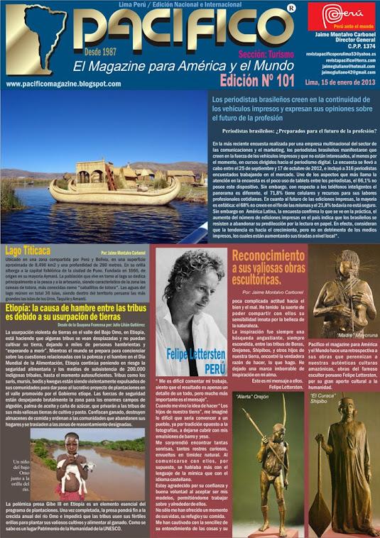 Revista Pacífico Nº 101 Turismo