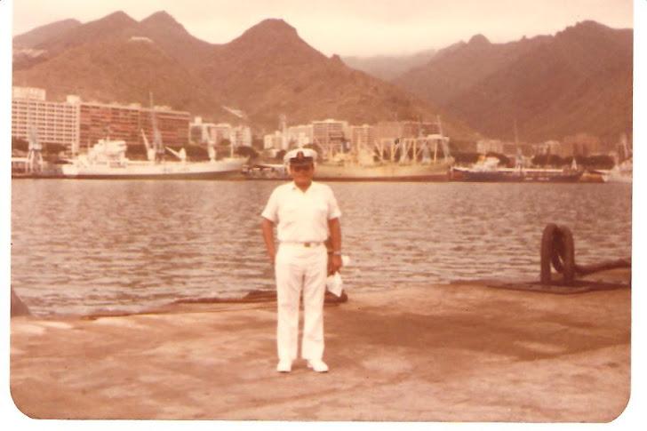 César Rivera - Sta. Cruz de Tenerife - Islas Canarias - España - Año 1983