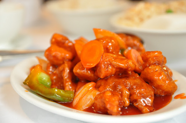 Eat and Drink Artillery Passage review sweet and sour pork